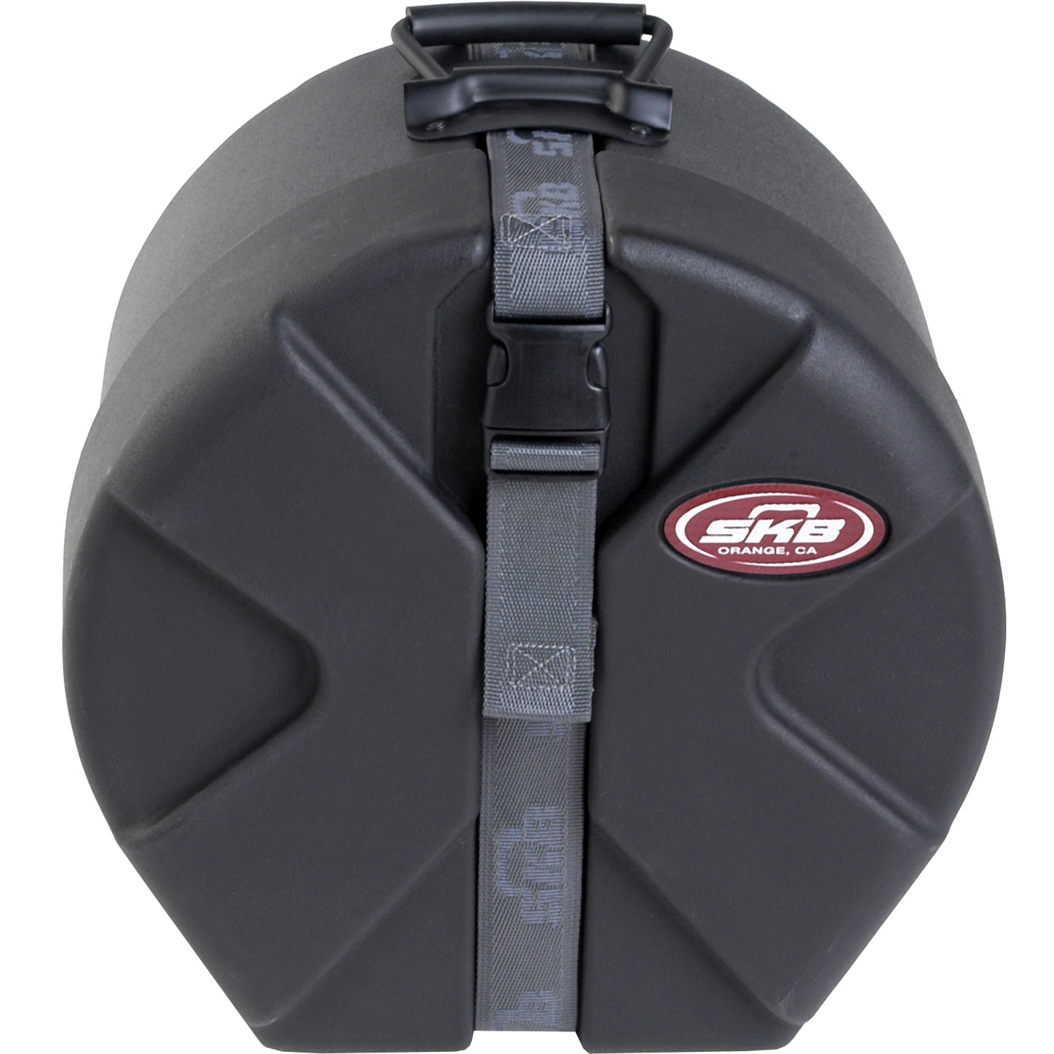 """SKB 6"""" (Deep) x 12"""" (Diameter) Snare Case with Padded Interior"""