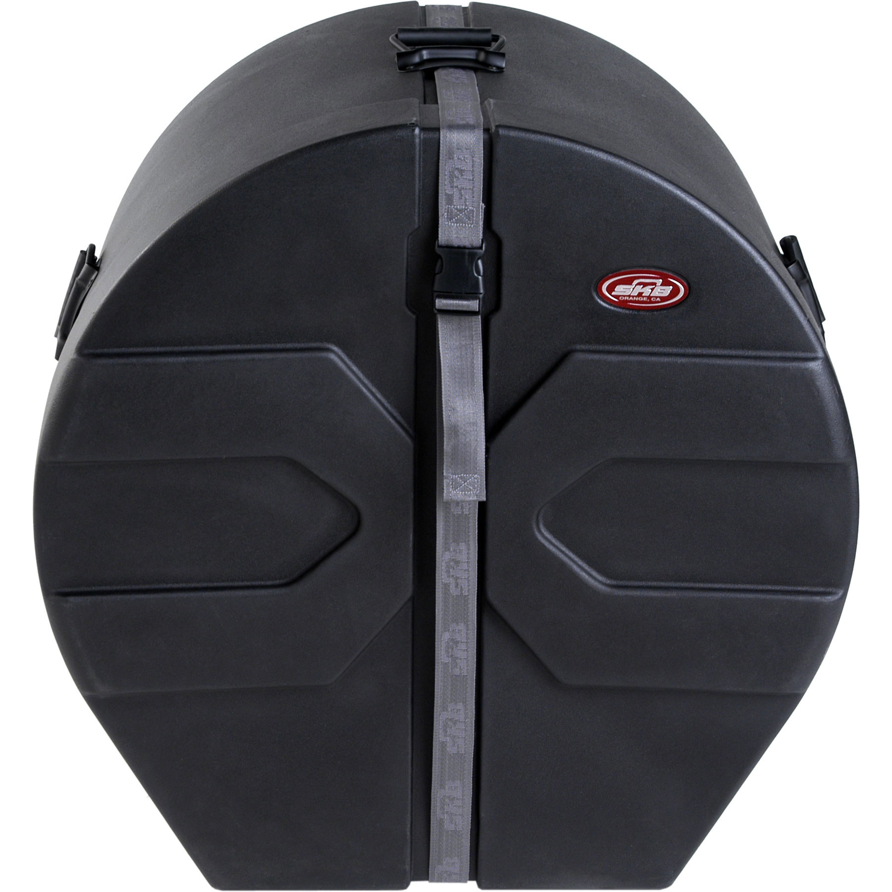 "SKB 16"" (Deep) x 24"" (Diameter) Bass Case with Padded Interior"