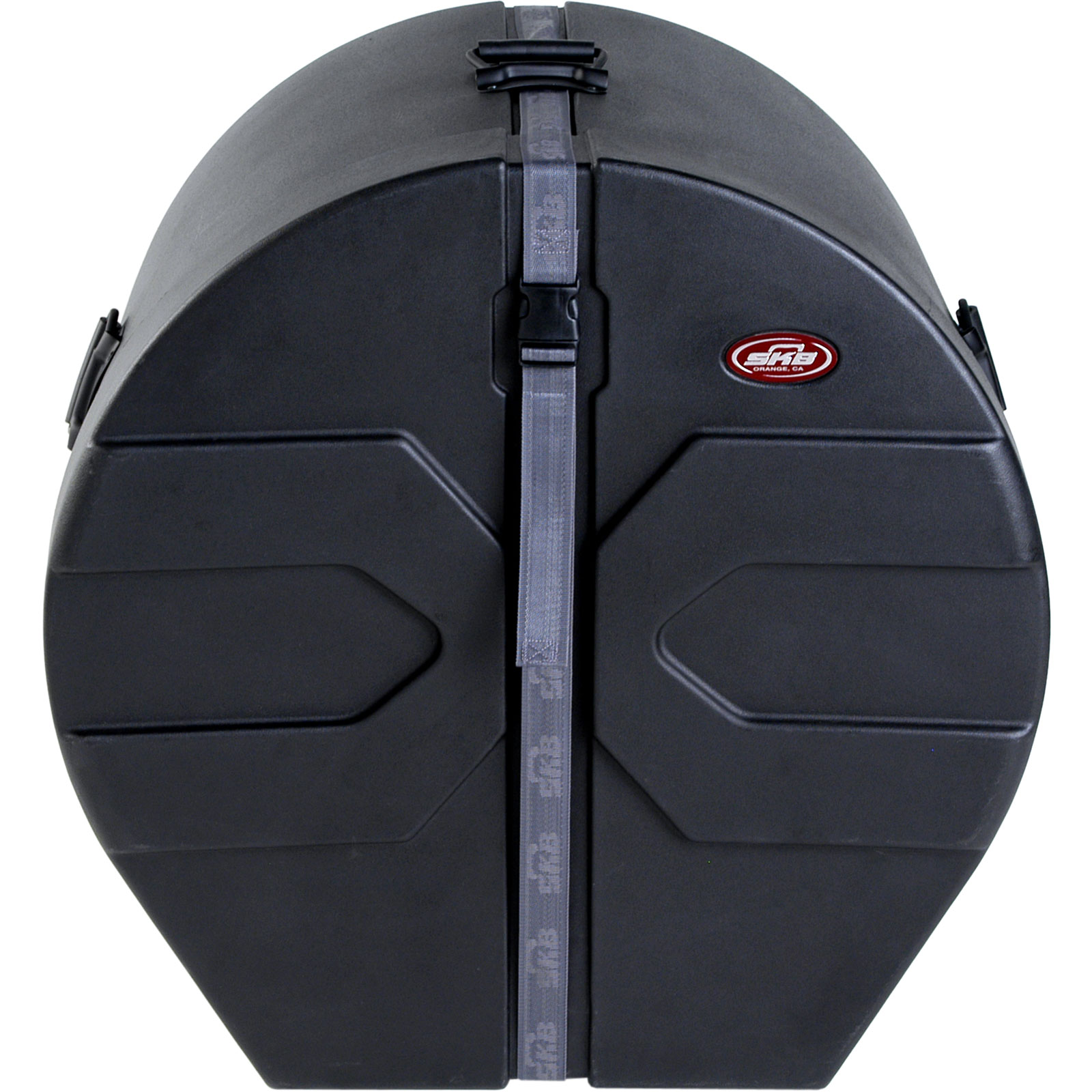"SKB 18"" (Deep) x 24"" (Diameter) Bass Case with Padded Interior"