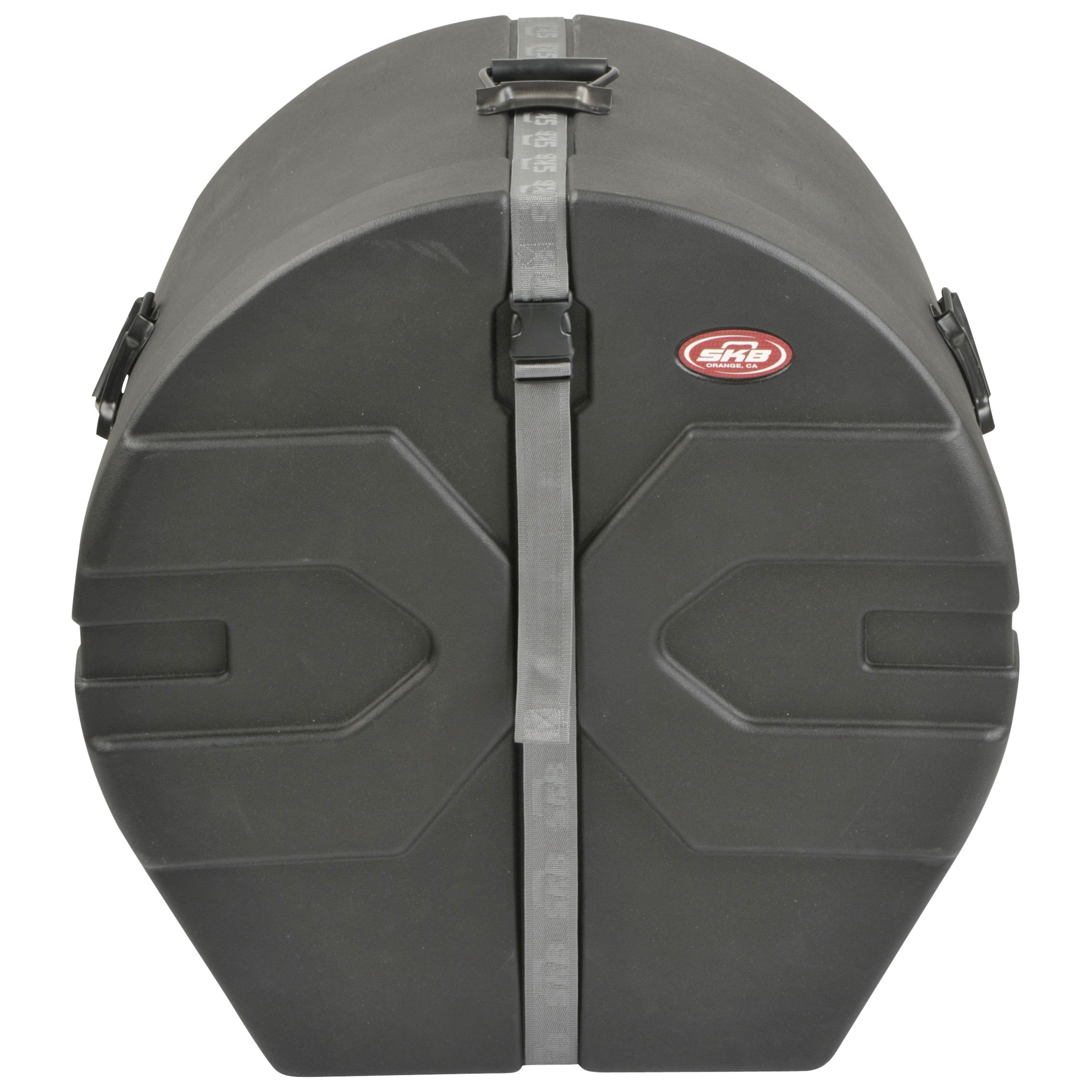"SKB 20"" (Deep) x 22"" (Diameter) Bass Case with Padded Interior"