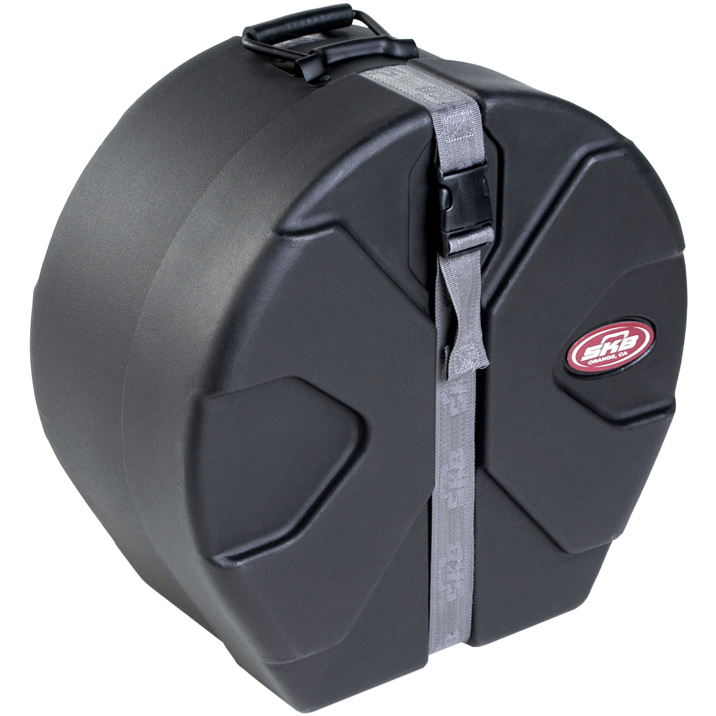 "SKB 6.5"" (Deep) x 14"" (Diameter) Snare Case with Padded Interior"