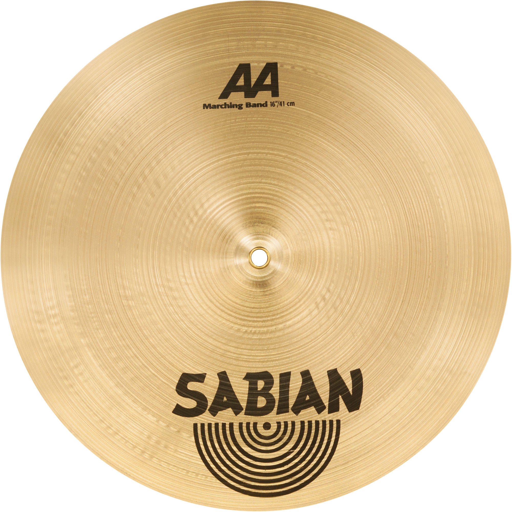 sabian 16 aa marching band hand cymbal pair 21622. Black Bedroom Furniture Sets. Home Design Ideas