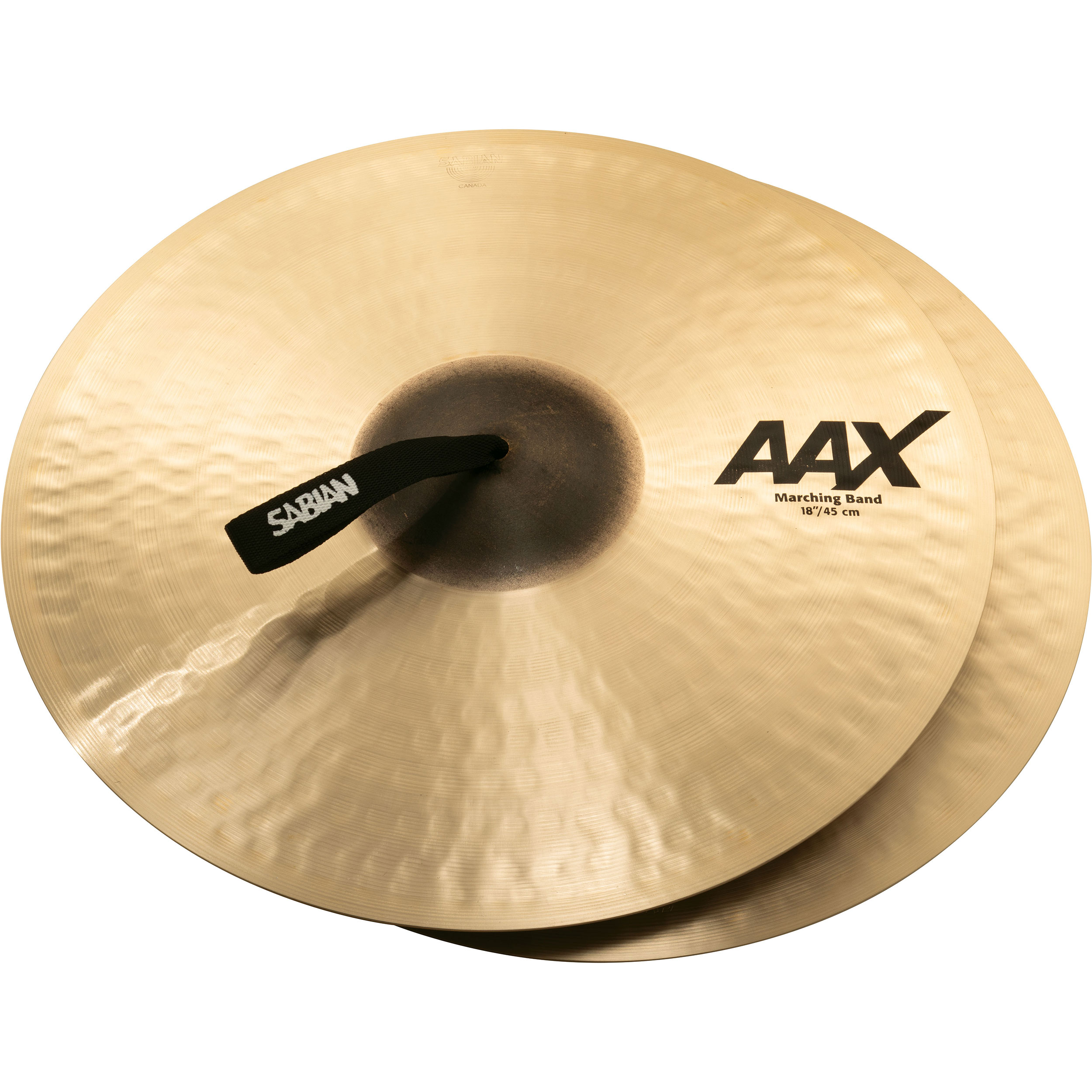"Sabian 18"" AAX Marching Band Crash Cymbal Pair"