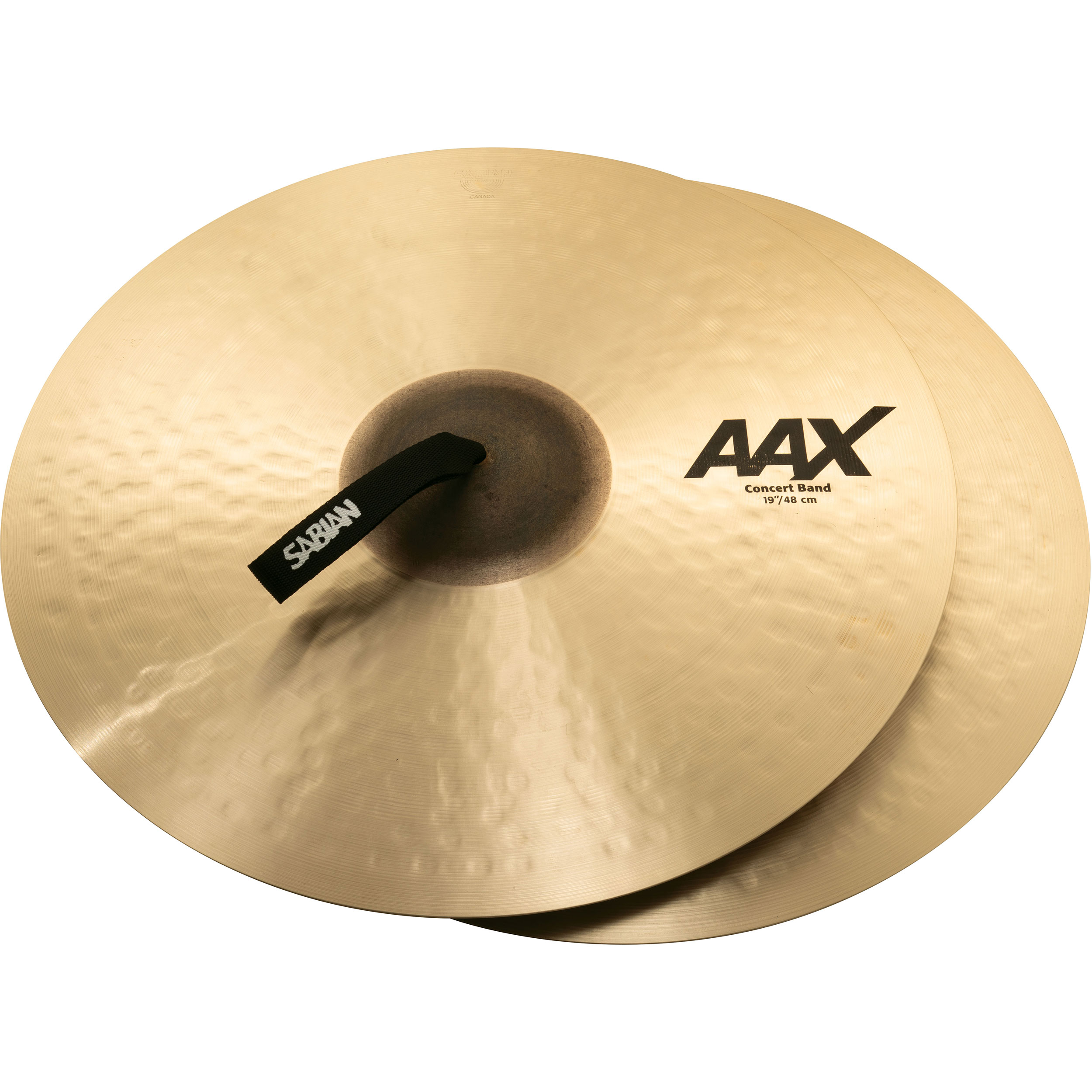 "Sabian 19"" AAX Concert Band Crash Cymbal Pair"