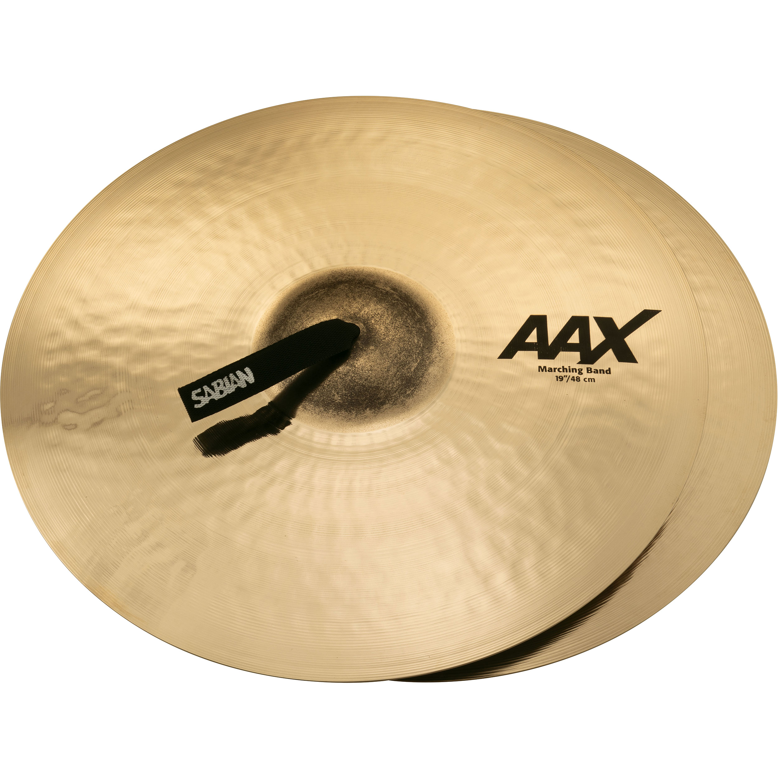 "Sabian 19"" AAX Marching Band Crash Cymbal Pair"