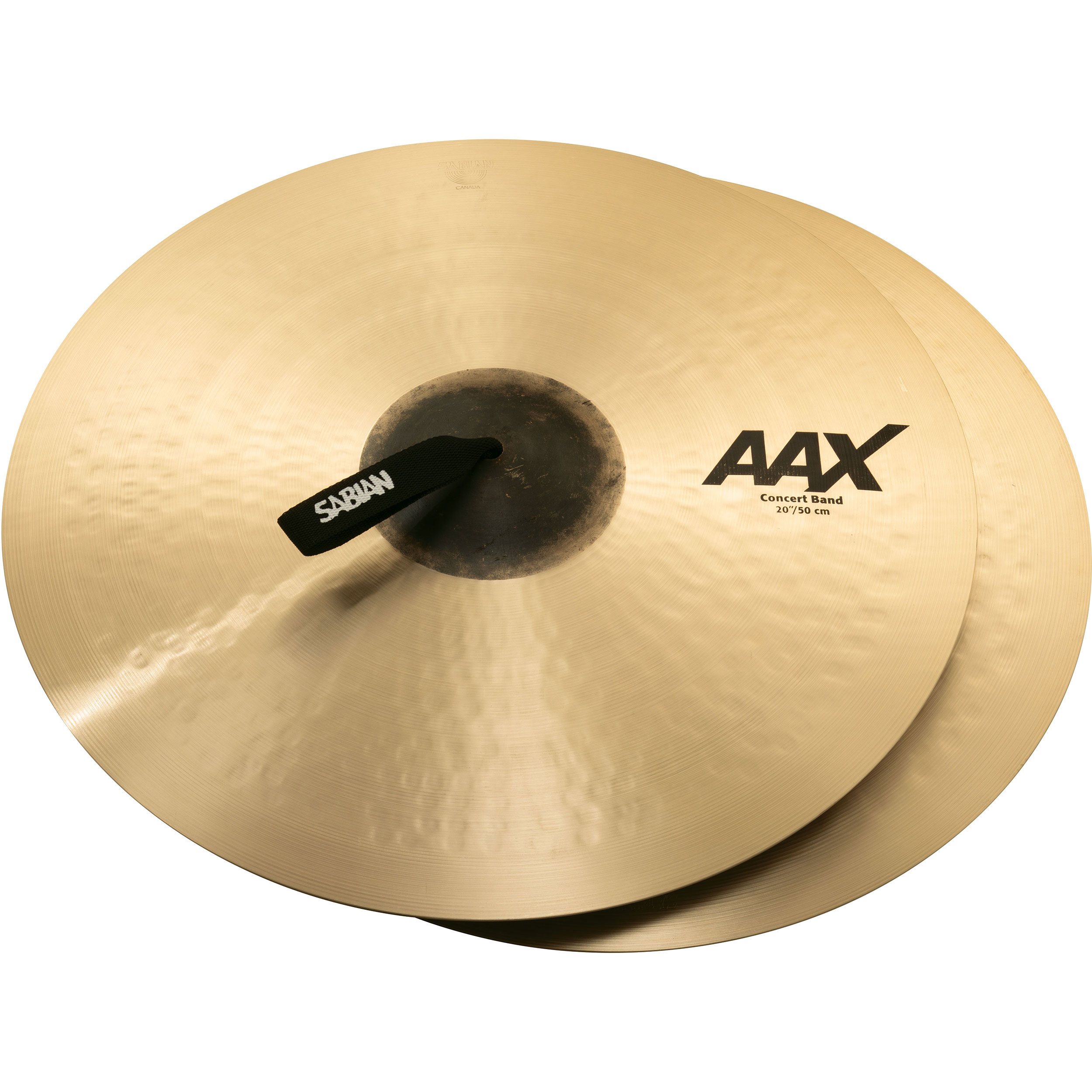 "Sabian 20"" AAX Concert Band Crash Cymbal Pair"