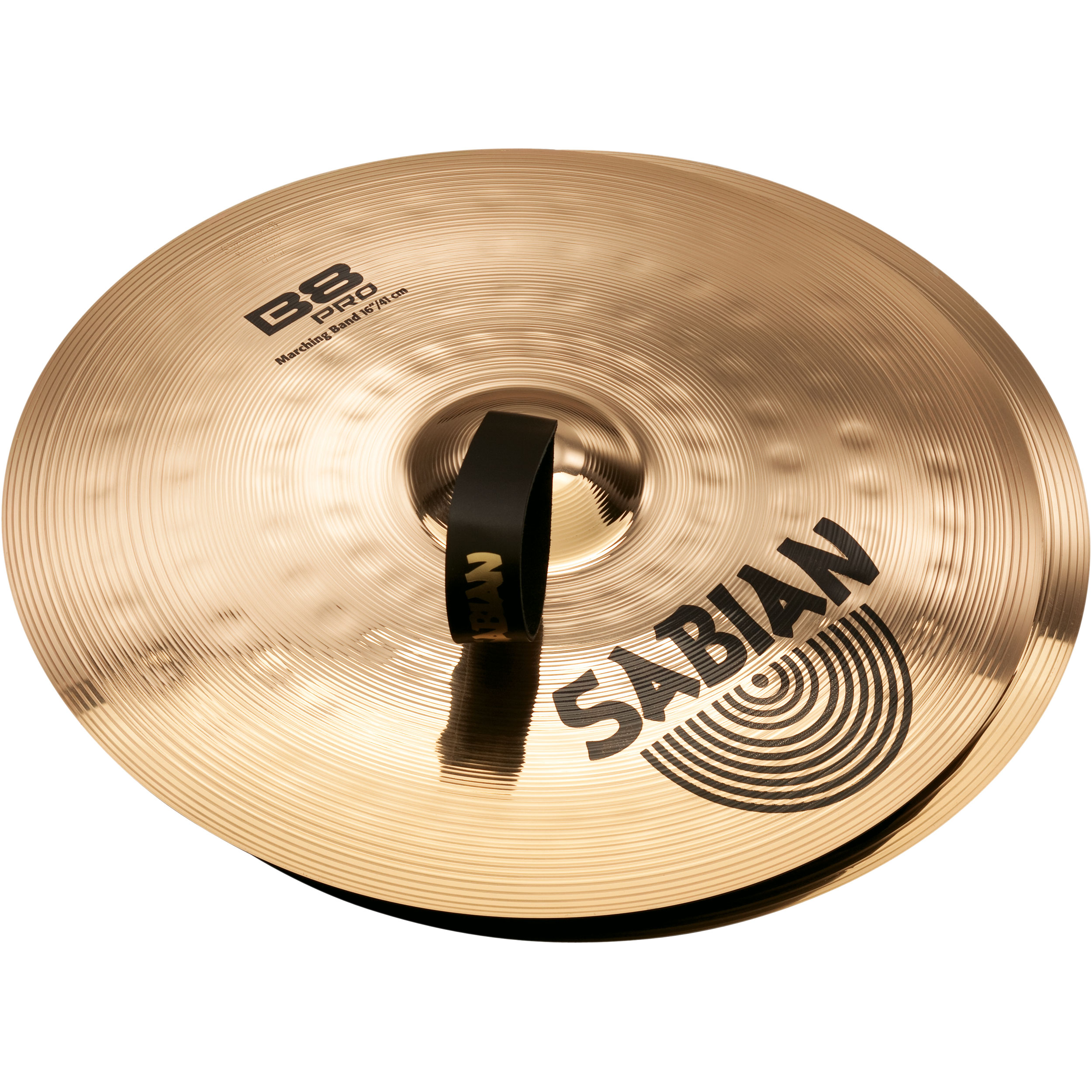 "Sabian 16"" B8 Pro Marching Band Hand Cymbal Pair"