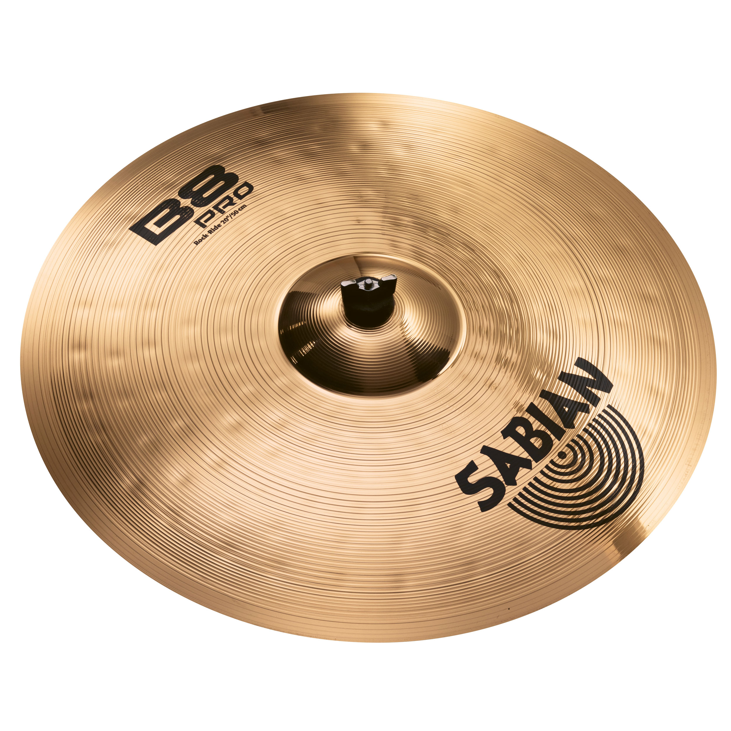 sabian 20 b8 pro power rock ride cymbal with brilliant finish 32014b. Black Bedroom Furniture Sets. Home Design Ideas