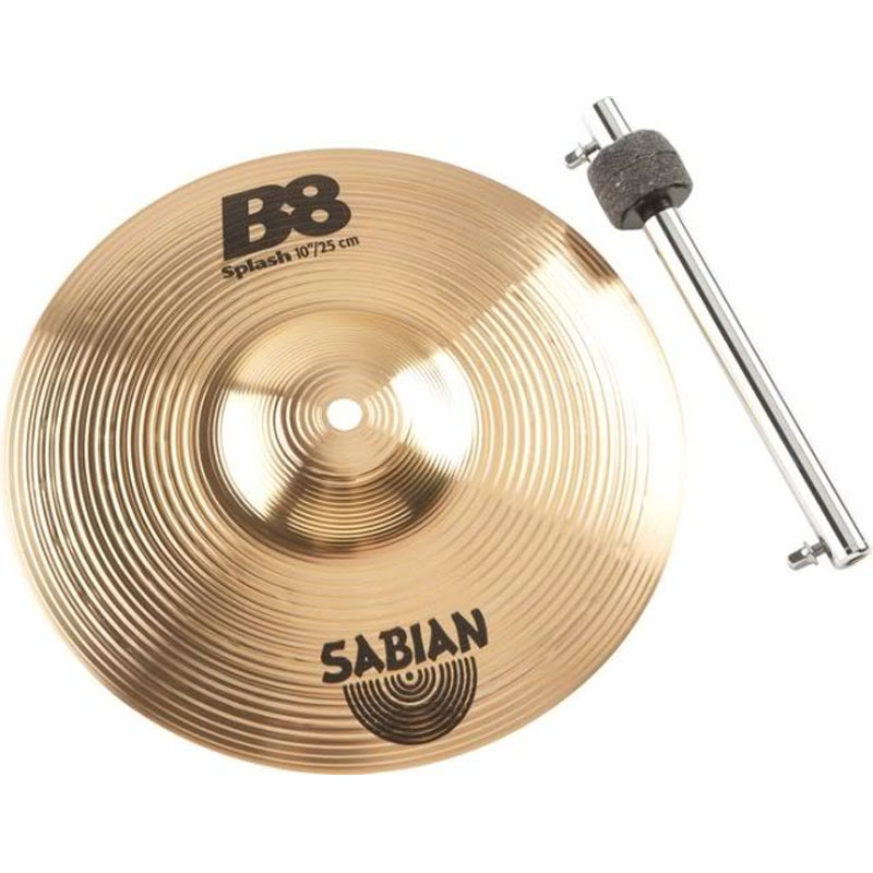 sabian b8 splash cymbal n stacker box set natural finish 41005sp. Black Bedroom Furniture Sets. Home Design Ideas