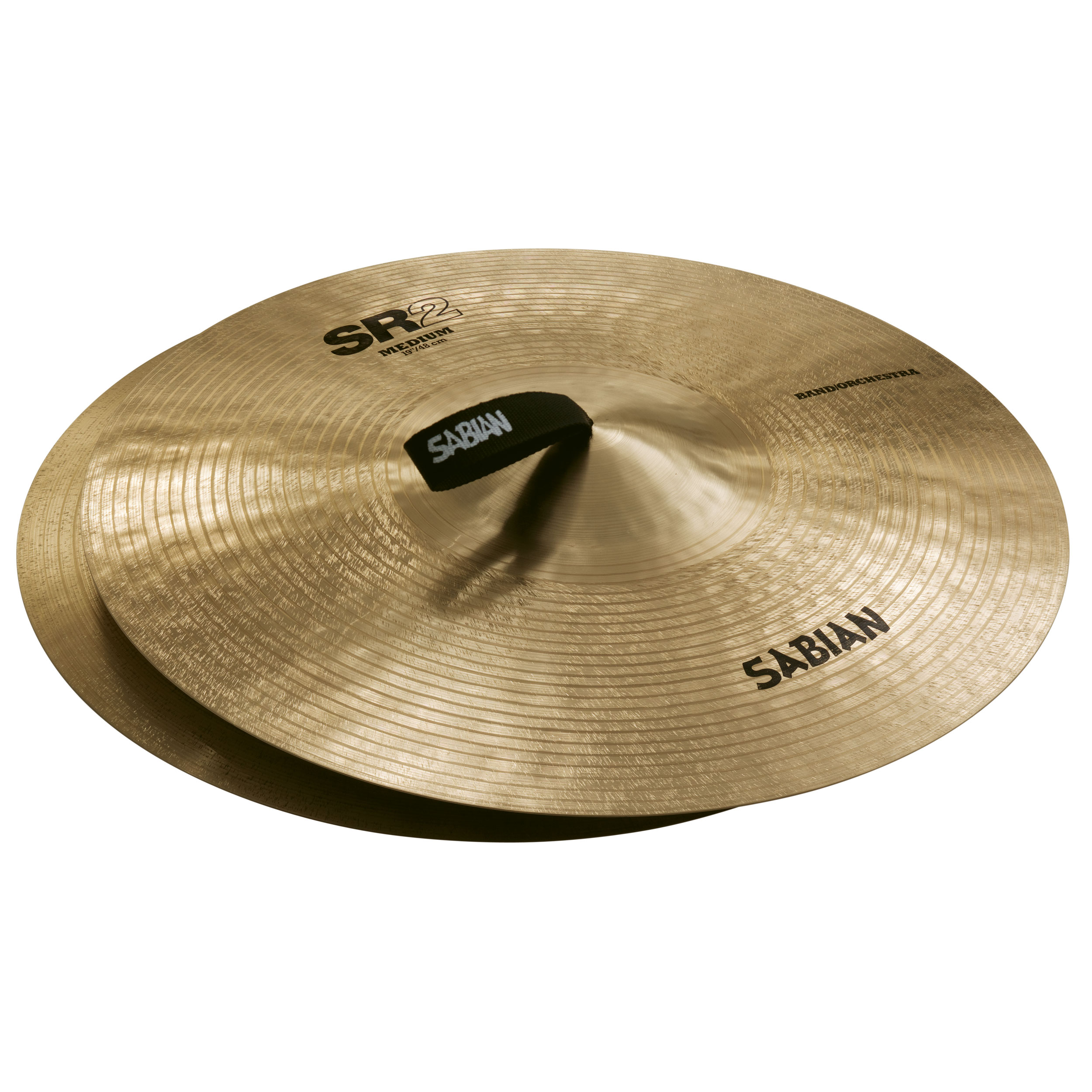 "Sabian 19"" SR2 Band & Orchestra Medium Crash Cymbal Pair"