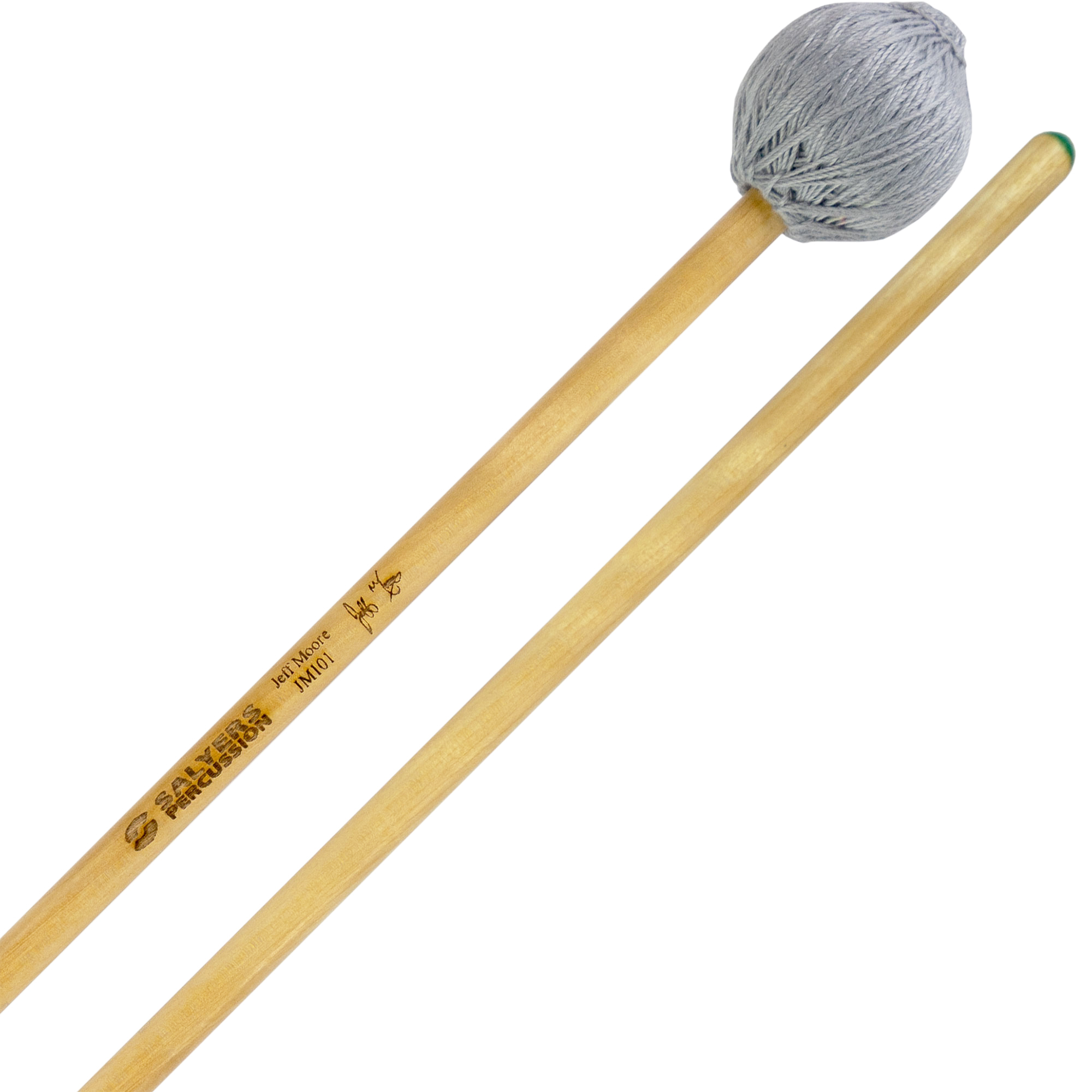 Salyers Percussion Jeff Moore Signature Soft Marimba Mallets with Birch Handles