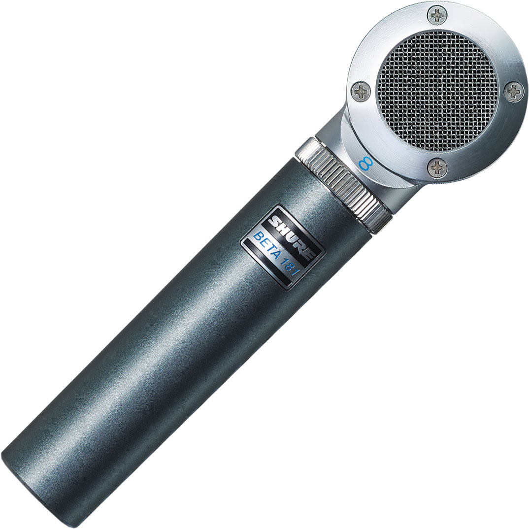 Shure BETA 181/C Ultra-Compact Side-Address Cardioid Condenser Microphone