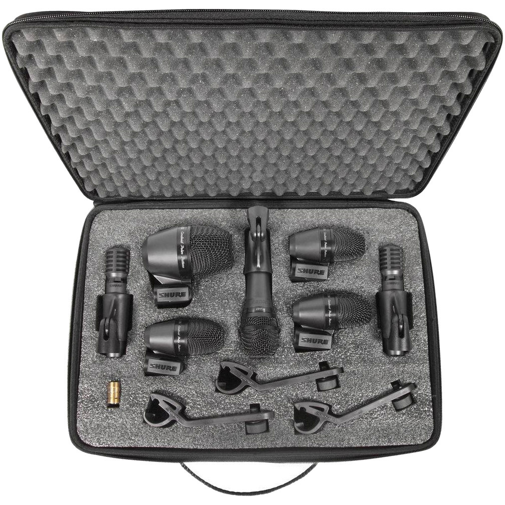 Mic Drum Set Shure : shure 7 piece drum set microphone kit pgadrumkit7 ~ Russianpoet.info Haus und Dekorationen