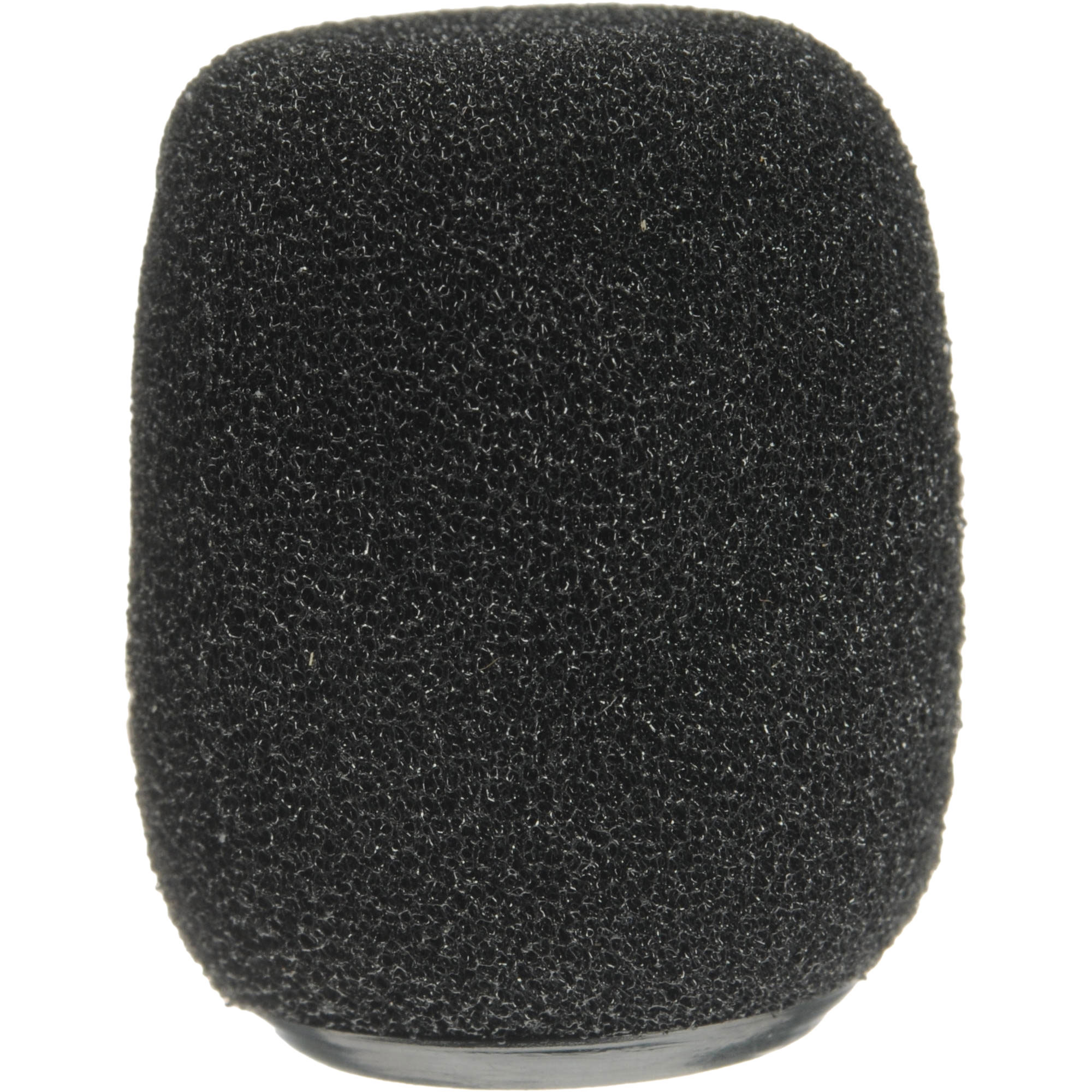Shure Black Snap-Fit Foam Windscreens (4-Pack)