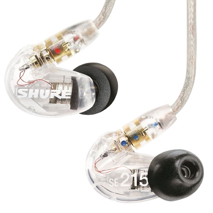 Shure Sound Isolating Earphones (Clear)