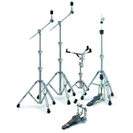 Sonor 400 Series Hardware (HH484, SS 400, 2x MBS 400, SP 473 Single Pedal)