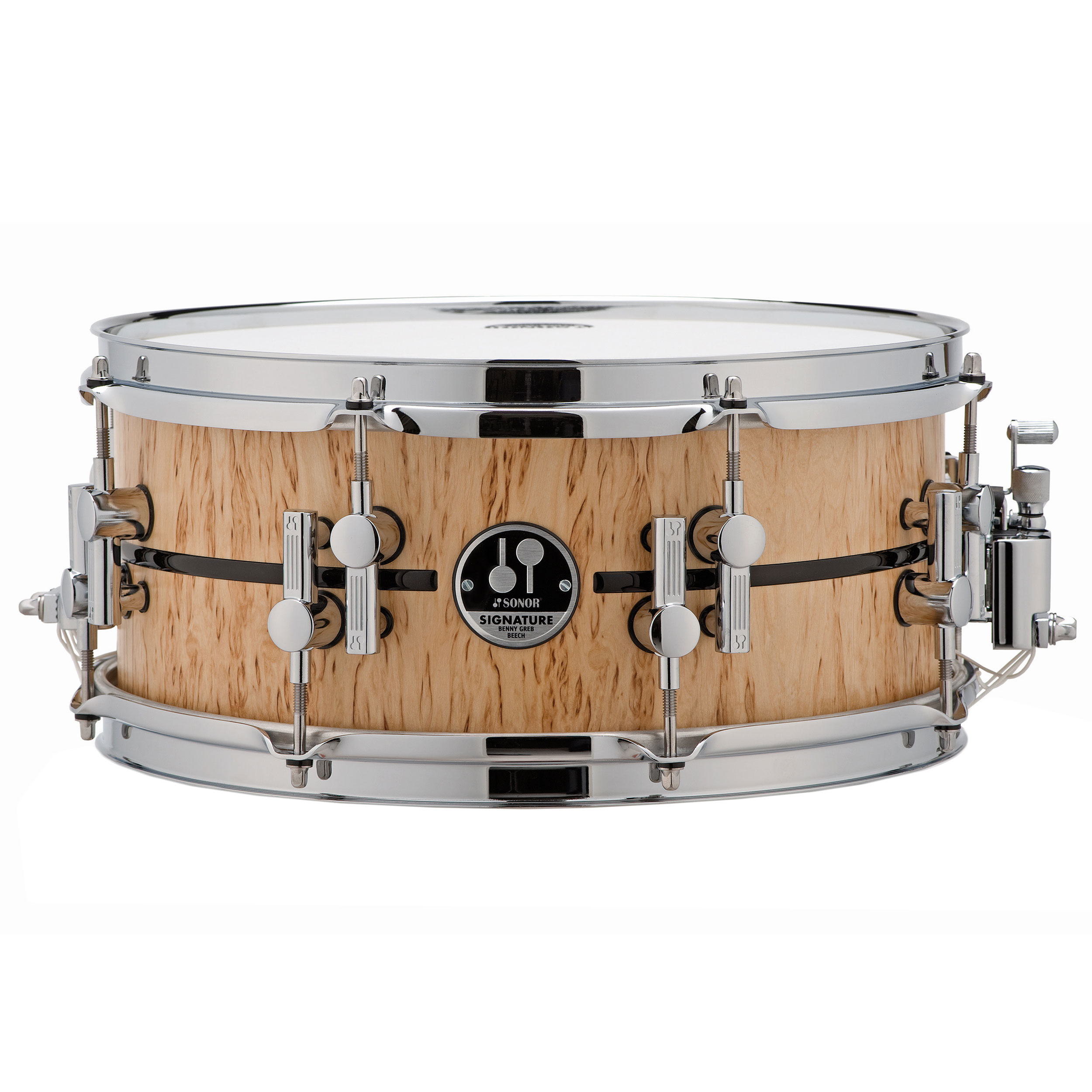 "Sonor 13"" x 5.75"" Benny Greb Signature Beech Snare Drum"
