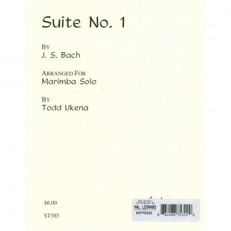 Suite No. 1 in E Minor by J. S. Bach trans. Todd Ukena