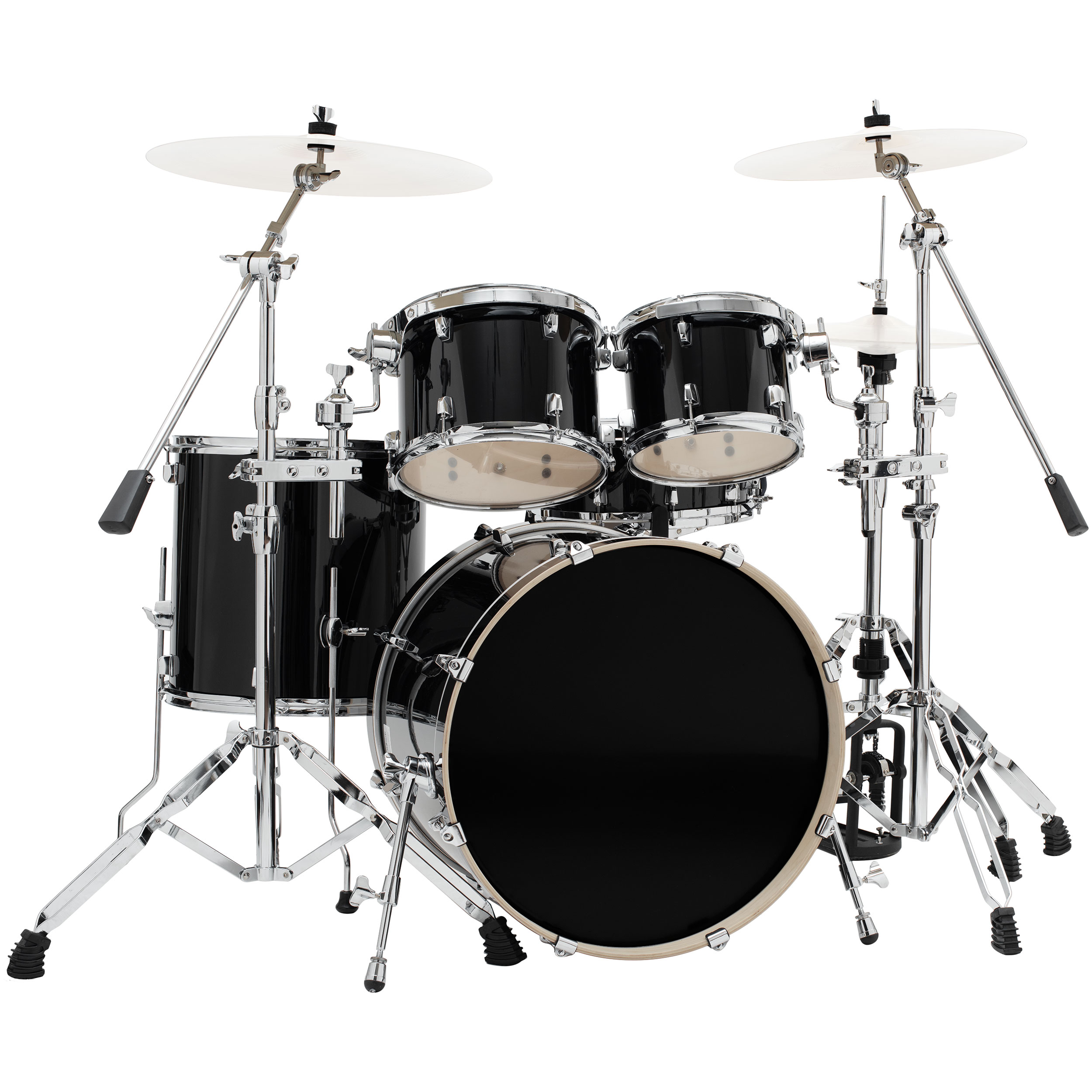 """System Blue 5-Piece Drum Set with Hardware (22"""" Bass, 10/12/16"""" Toms, 14"""" Snare Drum)"""