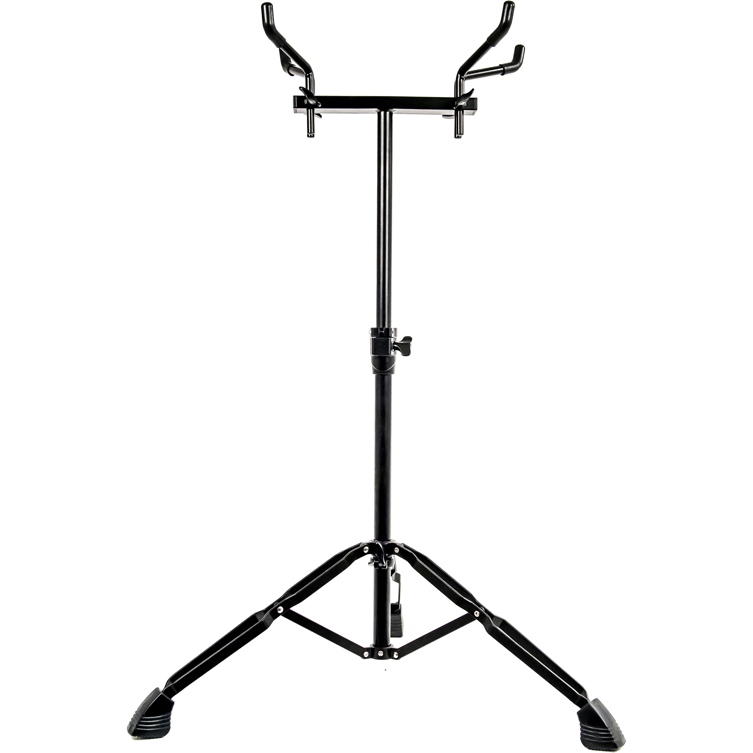System Blue Black Marching Snare Drum Stand