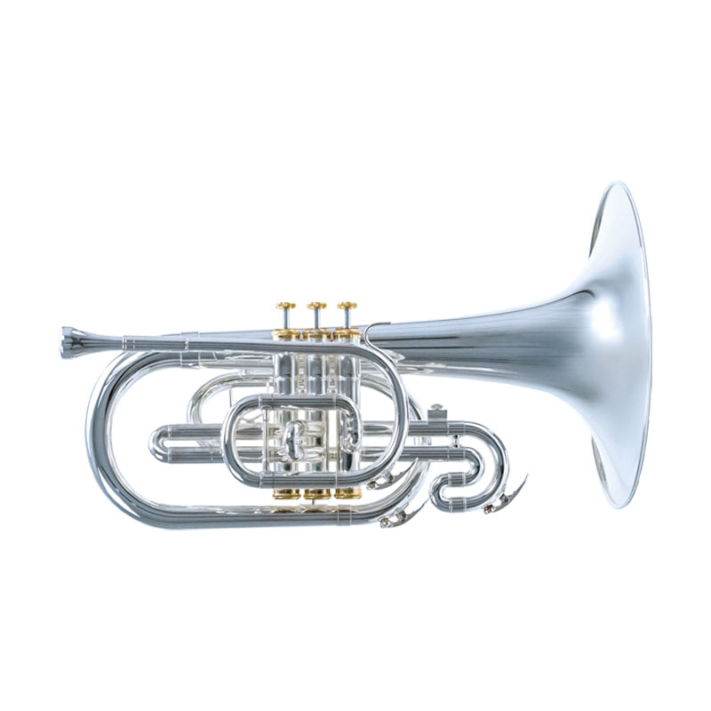 System Blue Traditional Marching Series F Mellophone