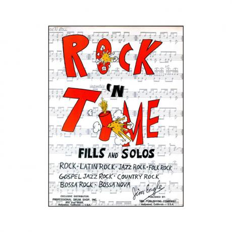 Rock 'N Time Fills and Solos by Jim Engle