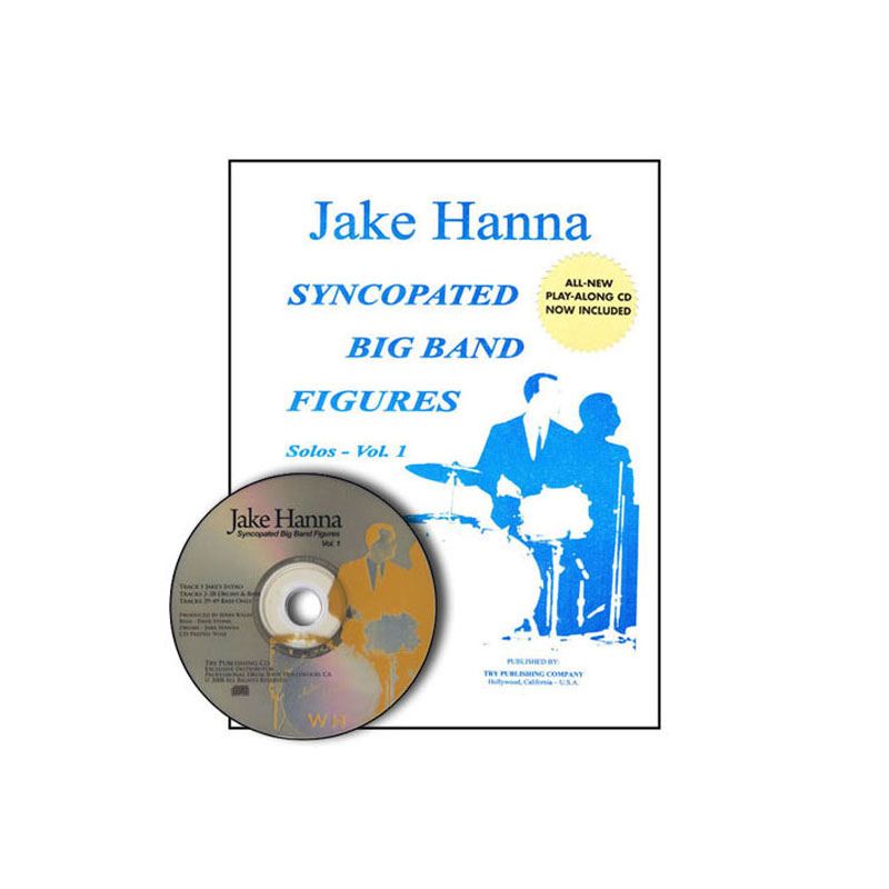 Syncopated Big Band Figures, Vol. 1 - Solos (Book and CD) by Jake Hanna