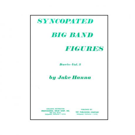 Syncopated Big Band Figures, Vol. 2 - Duets (Book and CD) by Jake Hanna