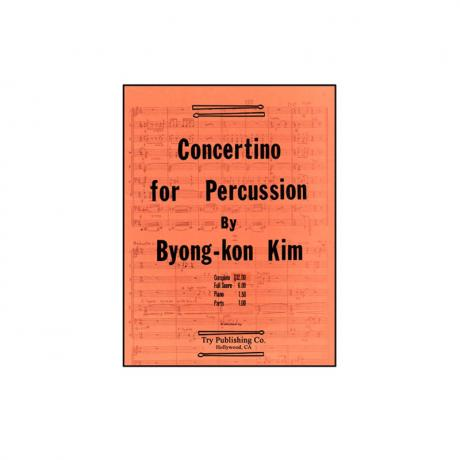 Concerto for Percussion by Byong-Kon Kim