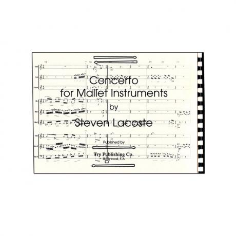 Concerto for Mallets by Steve LaCoste