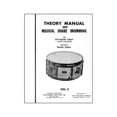 Theory Manual Of Musical Snare Drumming, Vol. 2 by D'artagnan Liagre