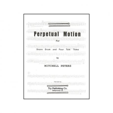 Perpetual Motion by Mitchell Peters