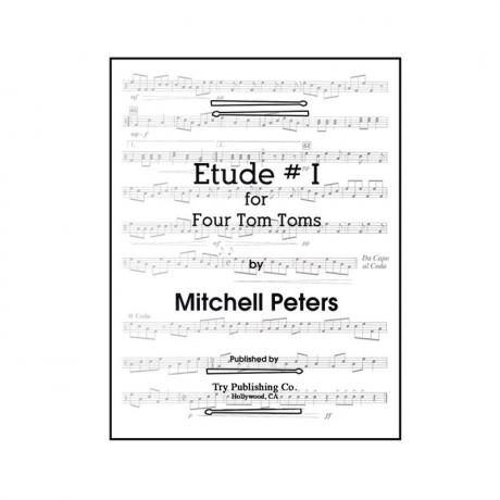 Etude #1 for Four Tom-Toms by Mitchell Peters