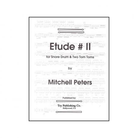 Etude #2 for Snare Drum and Two Tom-Toms by Mitchell Peters