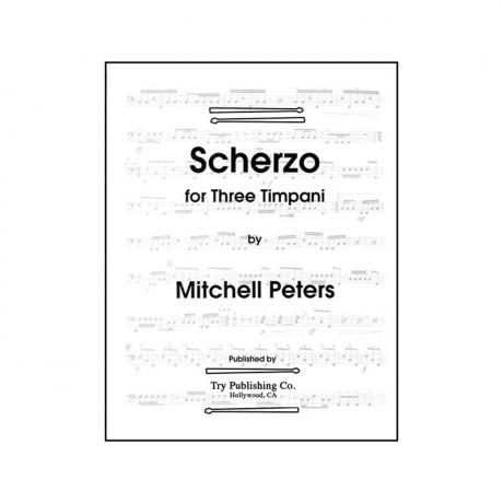 Scherzo by Mitchell Peters