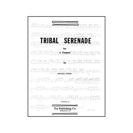 Tribal Serenade by Mitchell Peters