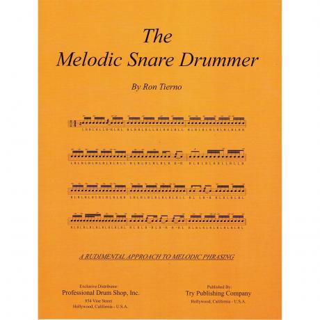 The Melodic Snare Drummer by Ron Tierno