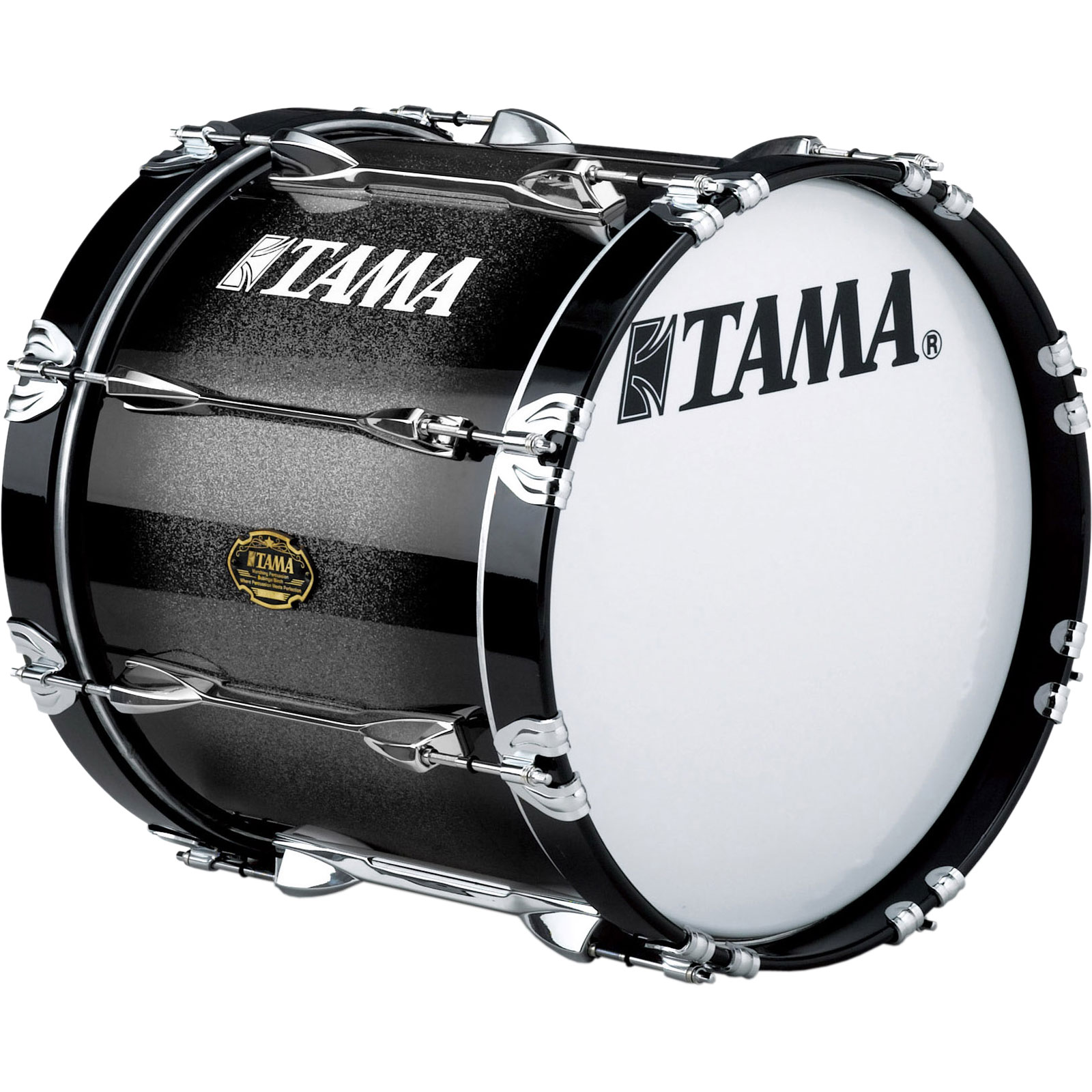 "Tama 16"" Birch/Bubinga Marching Bass Drum with Lacquer Finish"