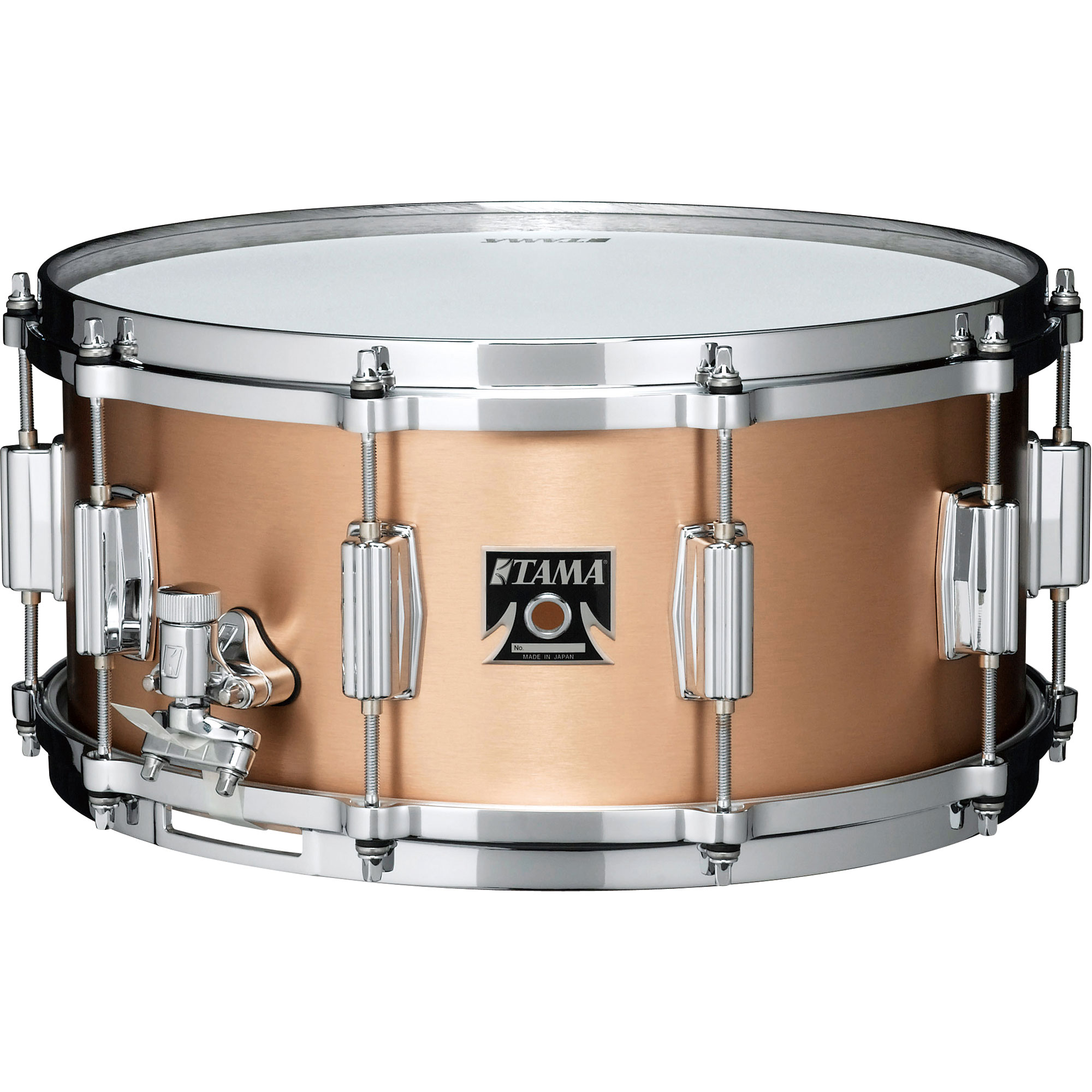 "Tama 6.5"" x 14"" Bell Brass Snare Drum"