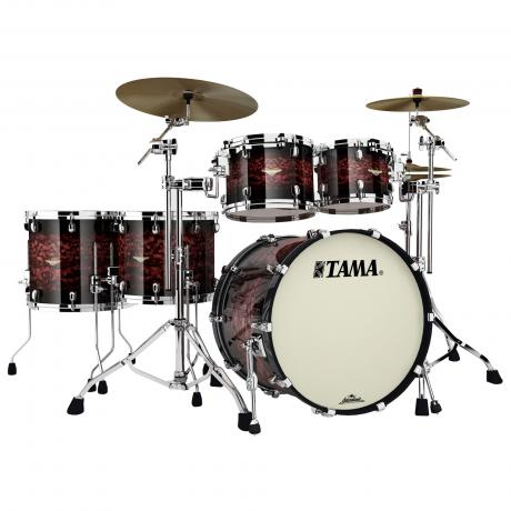 Tama Starclassic Bubinga 5 Piece Drum Set Shell Pack 22