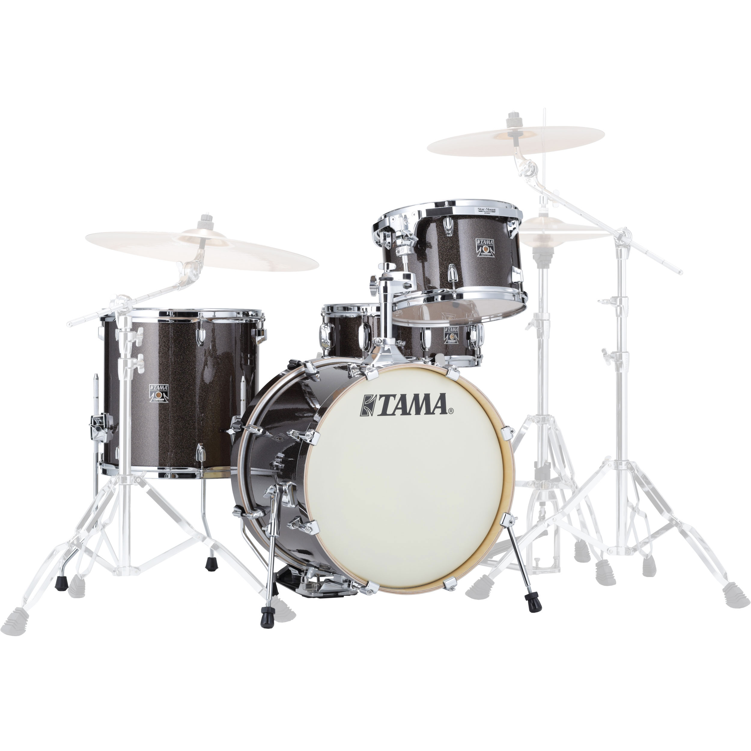 "Tama Superstar Classic ""Jazz Kit"" 4-Piece Drum Set Shell Pack (18"" Bass, 12/14"" Toms, 14"" Snare) in Wrap Finish"