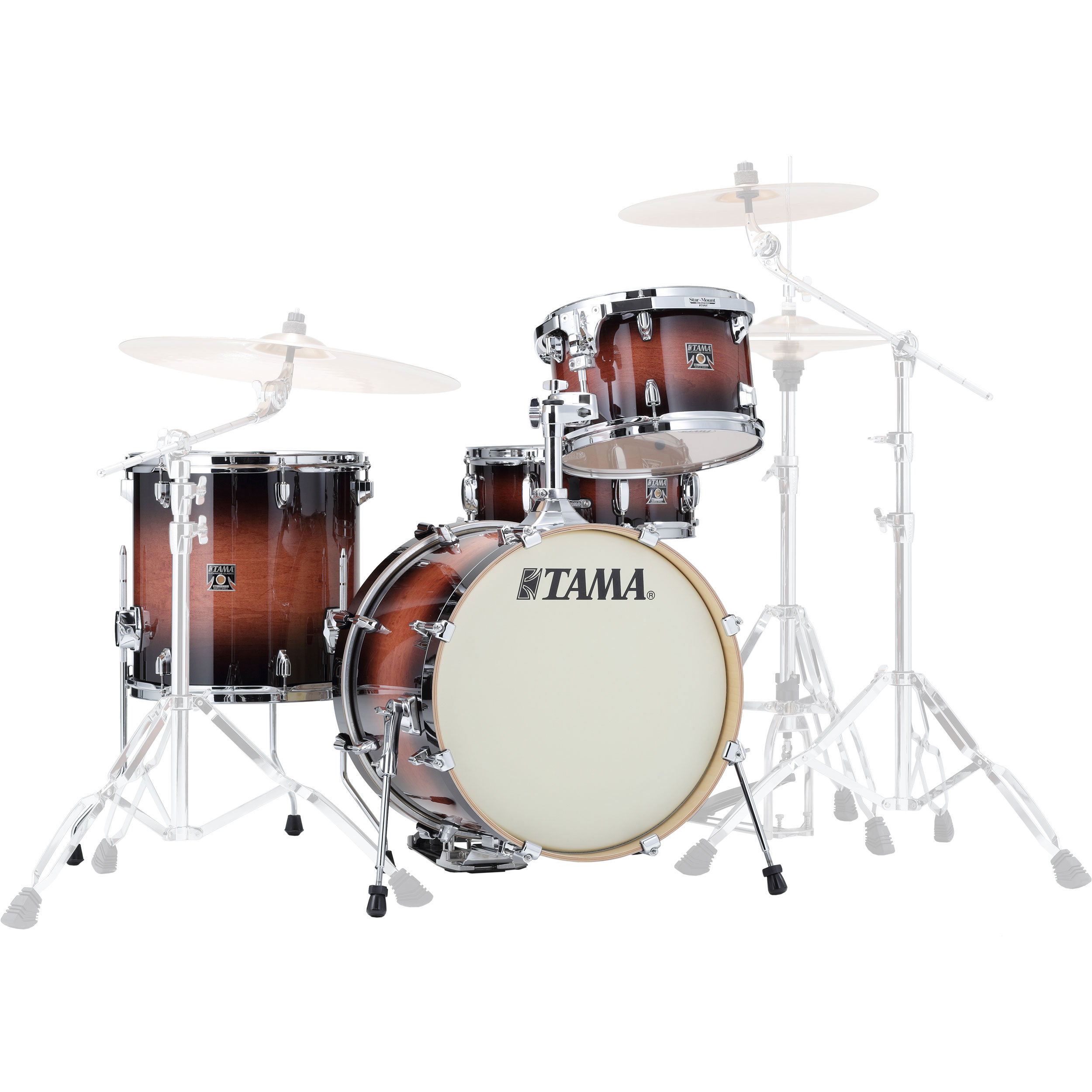 "Tama Superstar Classic ""Jazz Kit"" 4-Piece Drum Set Shell Pack (18"" Bass, 12/14"" Toms, 14"" Snare) in Lacquer Finish"