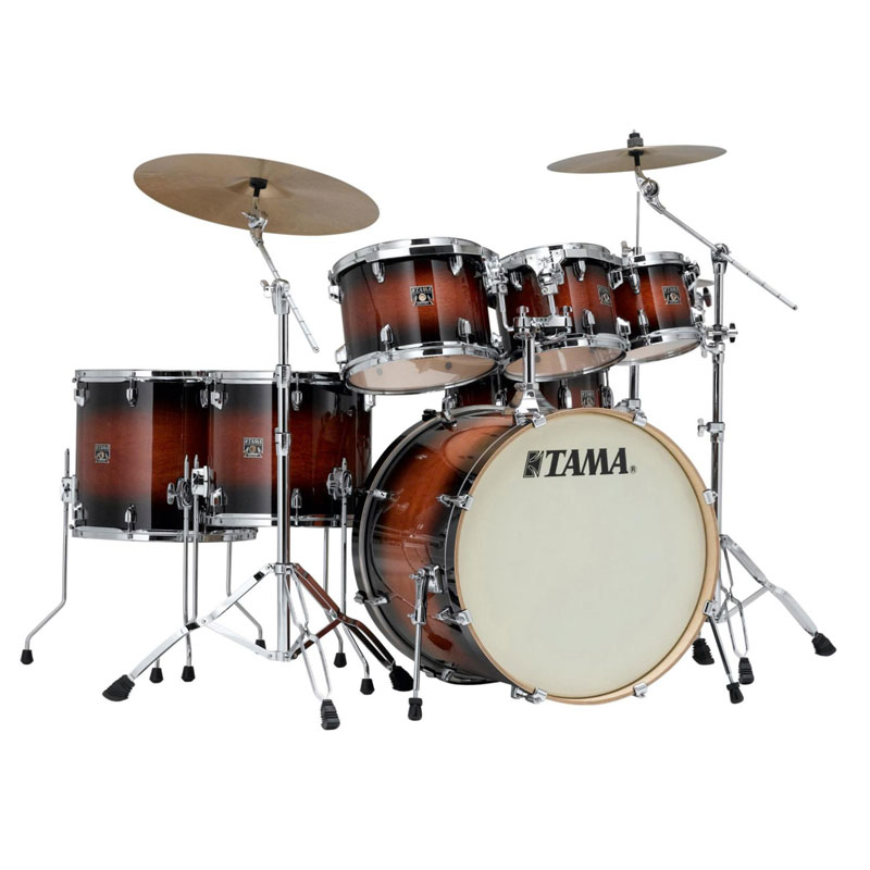 tama superstar classic 7 pc drum set 22 bass 8 10 12 14 16 toms 14 snare lacquer cl72. Black Bedroom Furniture Sets. Home Design Ideas