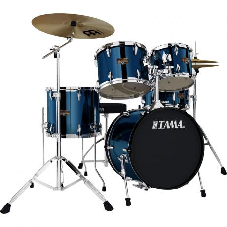 Tama Imperialstar 5-Piece Drum Set with Hardware and Cymbals (18