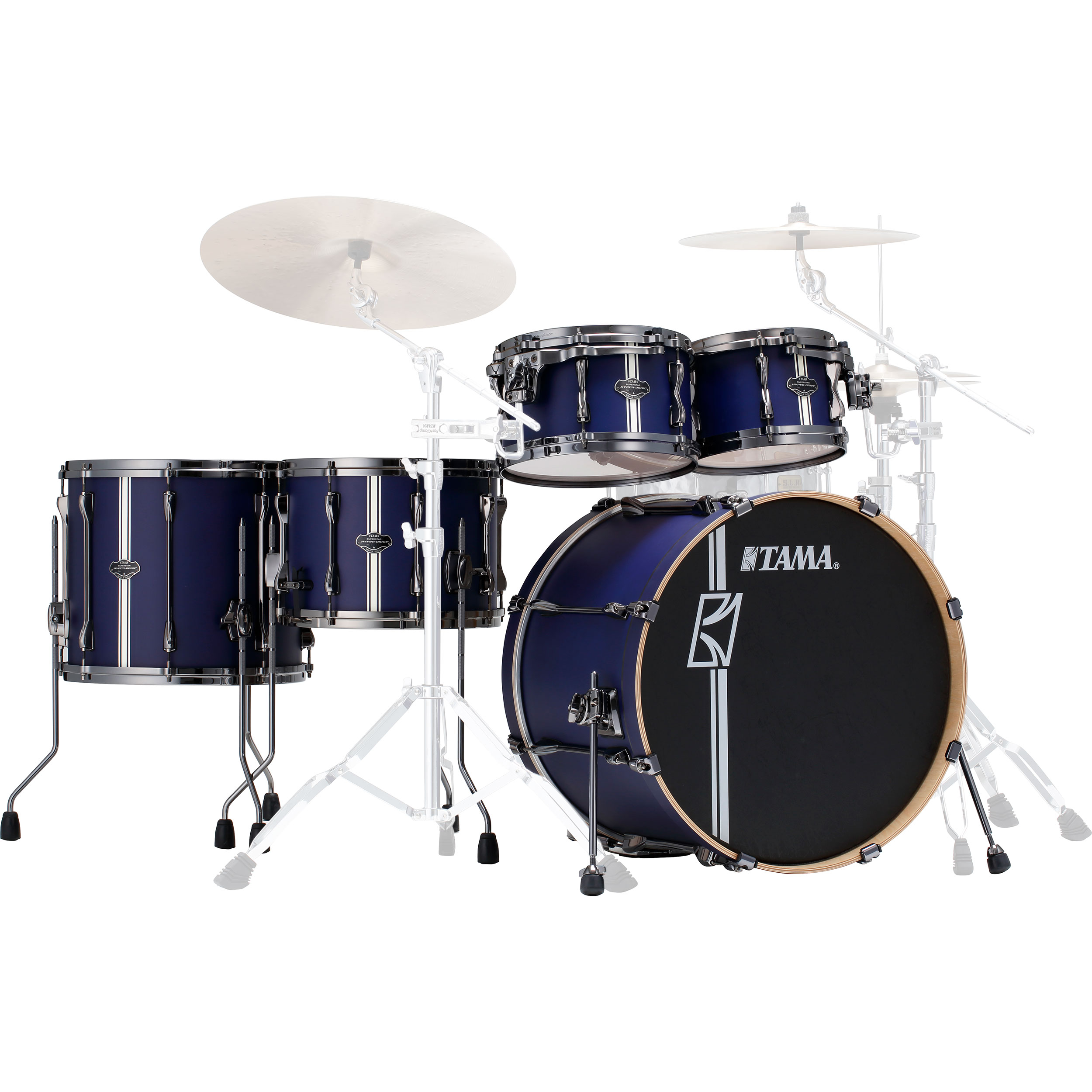 "Tama Superstar Hyper-Drive Duo 5-Piece Drum Set Shell Pack (22"" Bass, 10/12/16"" Toms, 14"" Duo Snare)"