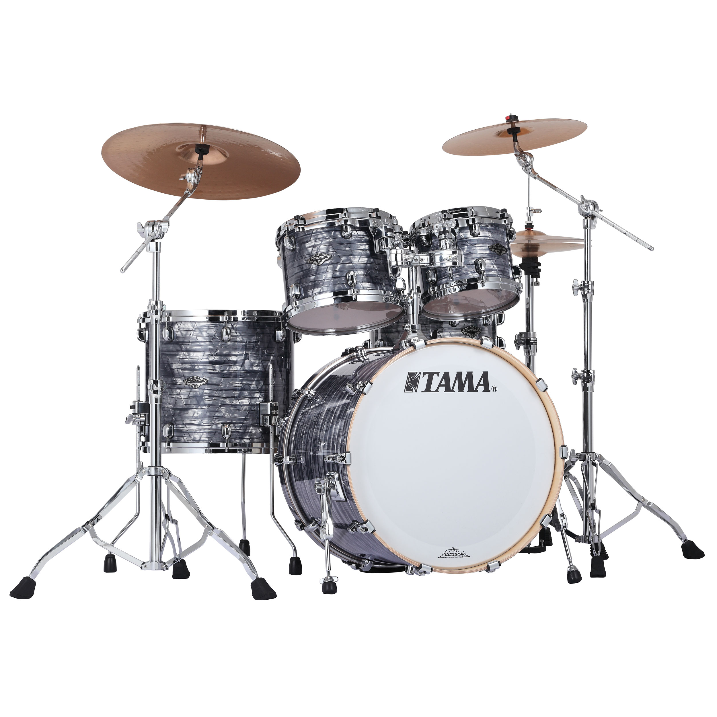 "Tama Starclassic Performer B/B 4-Piece Drum Set Shell Pack (22"" Bass, 10/12/16"" Toms) in Wrap Finish"