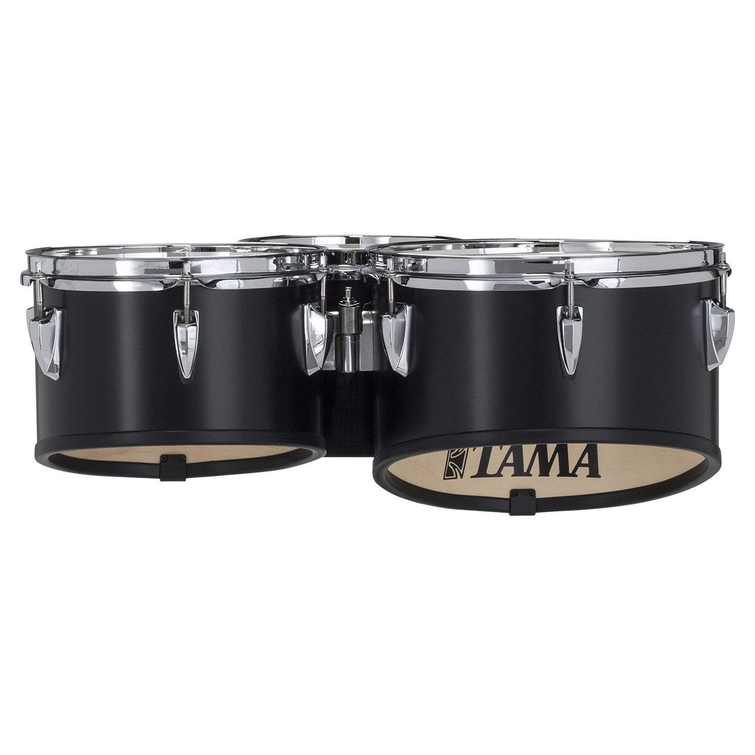 """Tama 8-10-12"""" StarLight Marching Tenors in Satin Black Lacquer"""