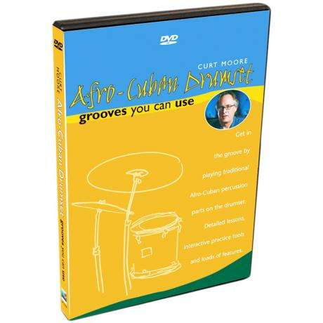 Afro-Cuban Drumset: Grooves You Can Use DVD - Curt Moore