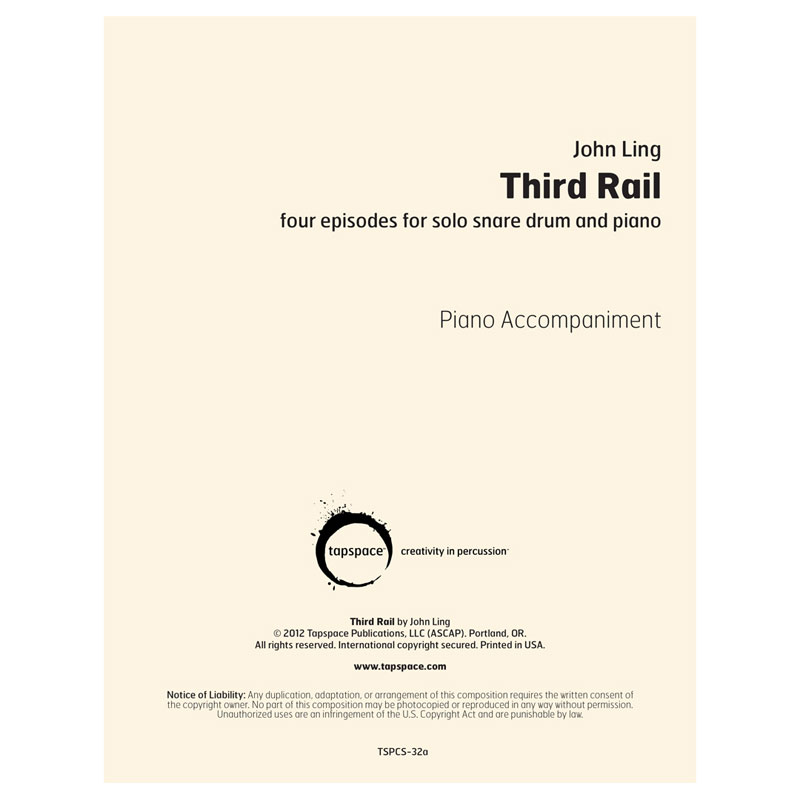 Third Rail Piano Accompaniment by John Ling