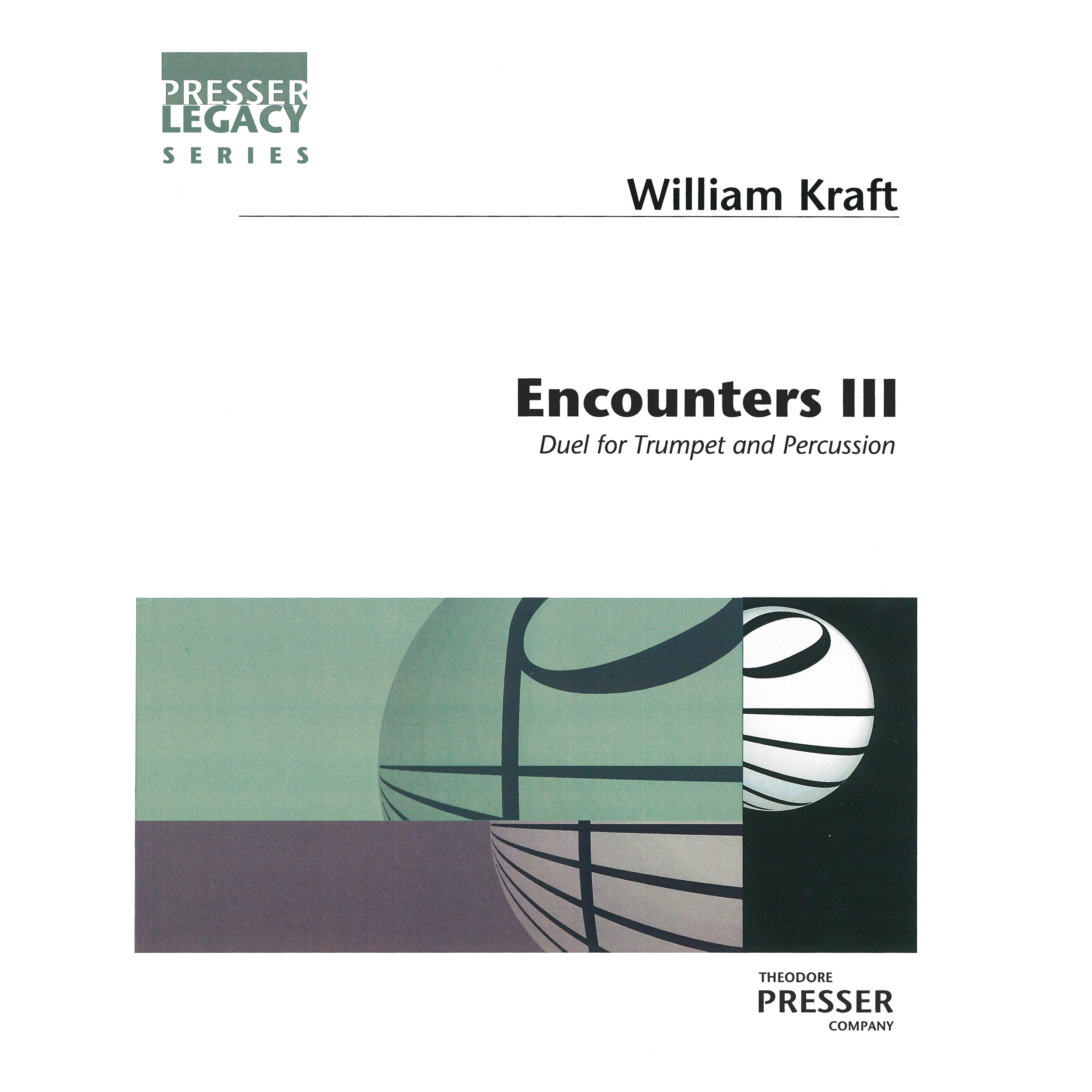 Encounters III by William Kraft